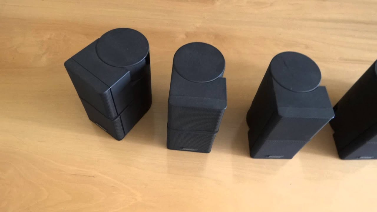 BOSE JEWEL CUBE  ADAPTADOR  YouTube