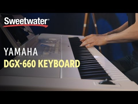 Yamaha DGX-660 88-key Arranger Piano Review