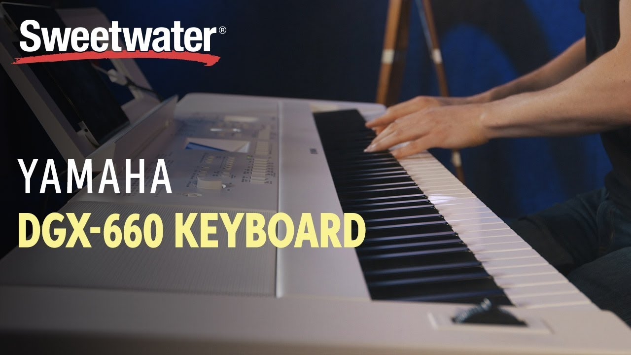 yamaha dgx 660 88 key arranger piano review youtube. Black Bedroom Furniture Sets. Home Design Ideas