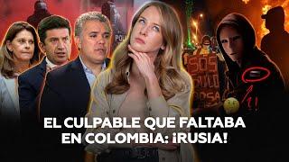 """¡La que faltaba! Gobierno colombiano incluye a Rusia entre """"quienes agitan las protestas"""""""