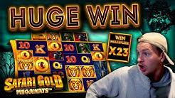 HUGE WIN on Safari Gold Megaways!