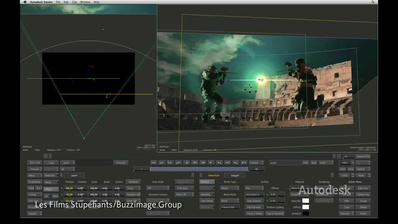 Autodesk Smoke 2013: Powerful 3D Visual Effects In Your
