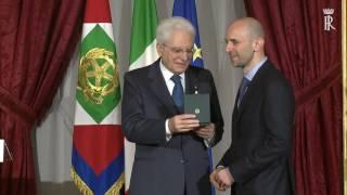 cerimonia di consegna delle onorificenze dell'Ordine al Merito della Repubblica Italiana