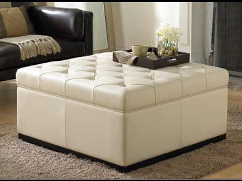 Awesome Tufted Storage Ottoman - Awesome Tufted Storage Ottoman - YouTube