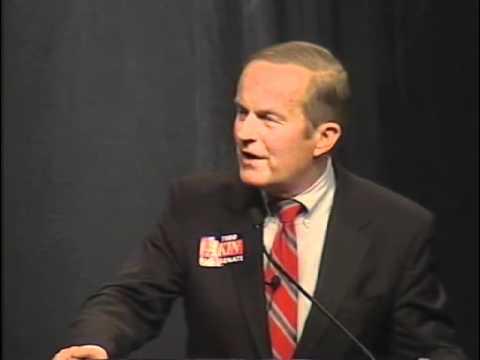 Todd Akin Speaks to Missouri State Convention