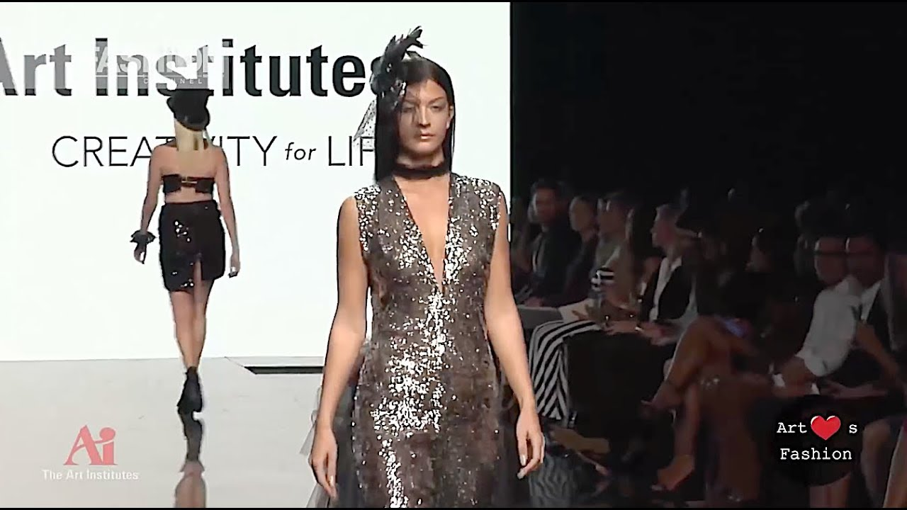The Art Institutes Spring Summer 2017 2 Ahf Los Angeles Fashion Channel Youtube