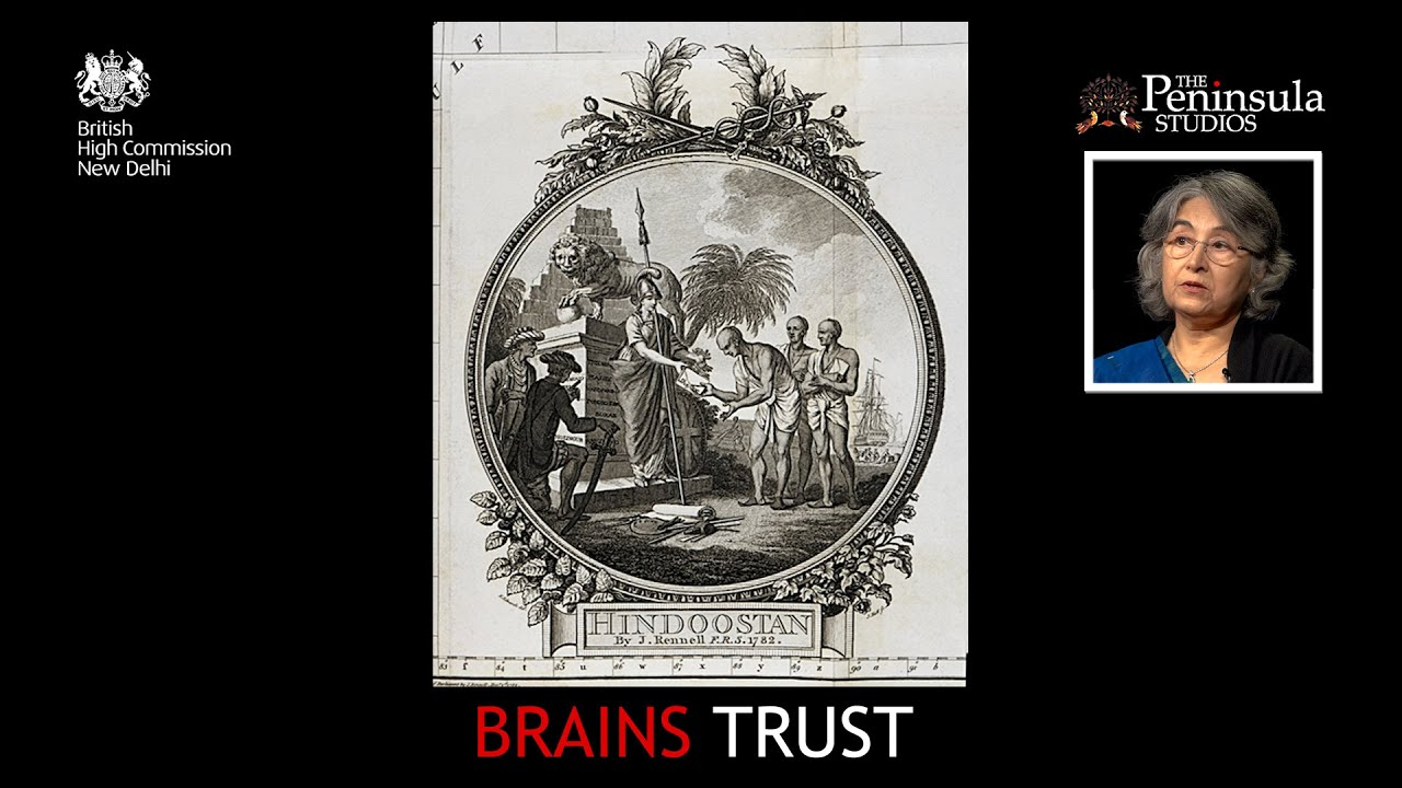 Mapping India   Dr. Manosi Lahiri   Brains Trust India
