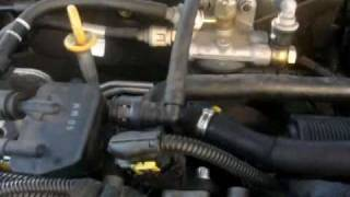 demontage capteur turbo (removing turbo sensor to clean it) 147 jtd 16v /8v/GT/ fiat stilo 16v