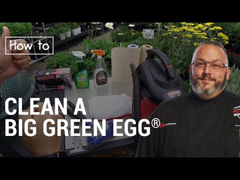 Cleaning A Big Green Egg - Ace Hardware