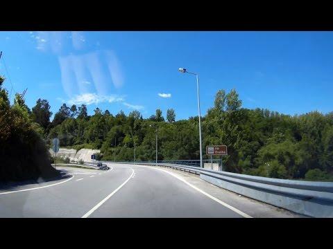 Git2 Timelapse test on road: Marco - Amarante