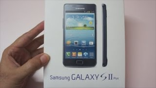 Samsung Galaxy S2 Plus Unboxin…