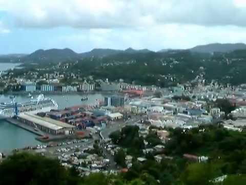 St Lucia Market Port Ships