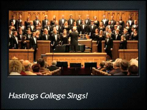 Palestrina: Sicut cervus (The Hastings College Choir)