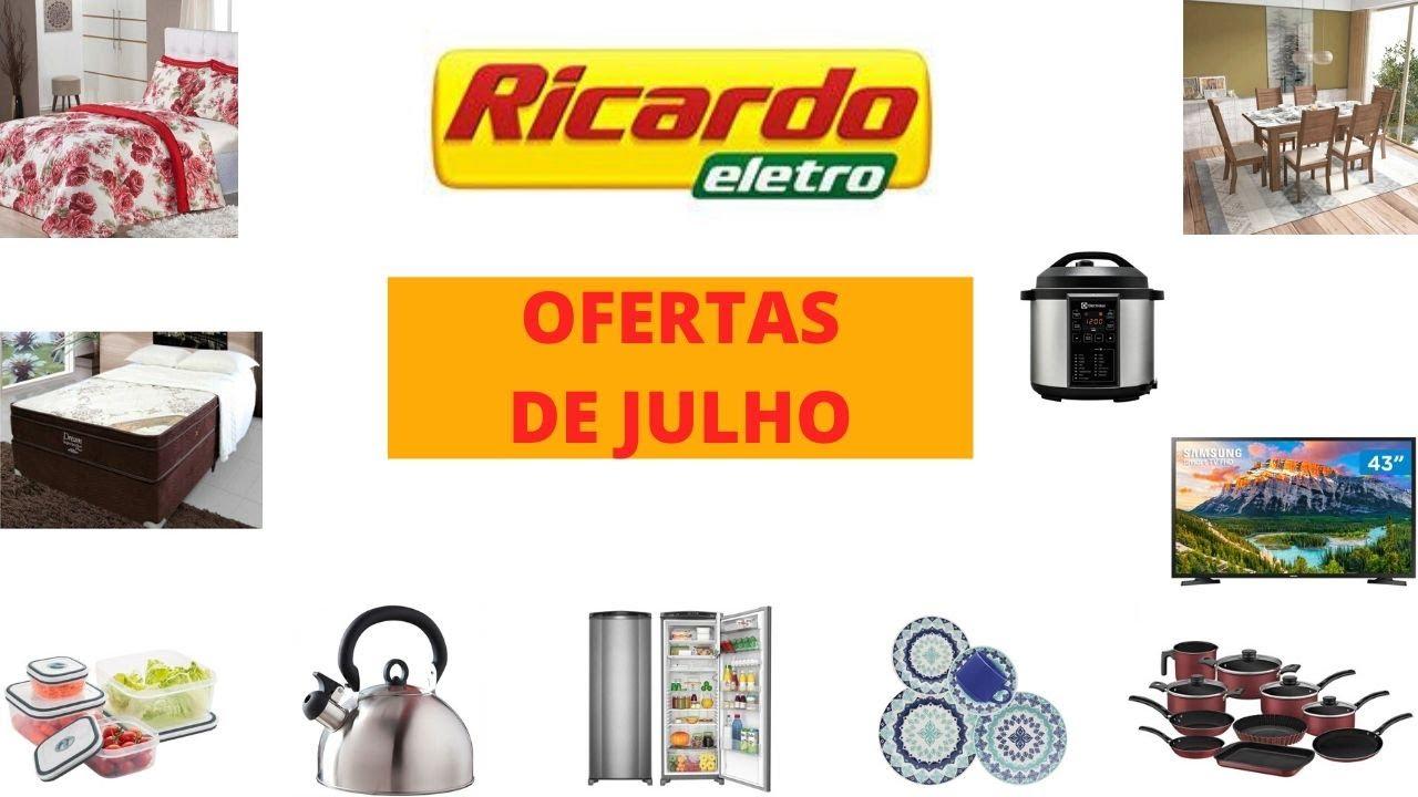 RICARDO ELETRO (LOJA ONLINE) - OFERTAS DE JULHO - ELETROS - MOVEIS - UTILIDADES !!!
