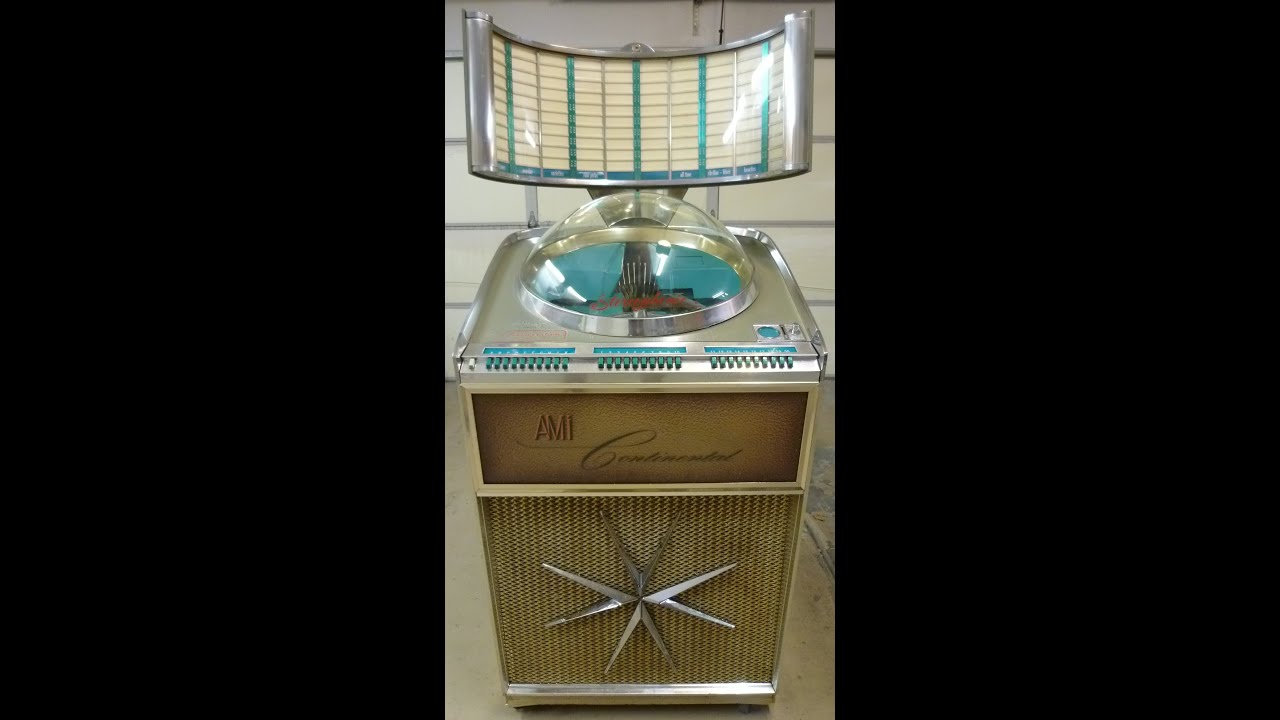 Ami Xjca 200 Continental Jukebox Sold Youtube