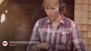 """Professional African Style """"Village"""" Djembe - PROADJ2-L"""
