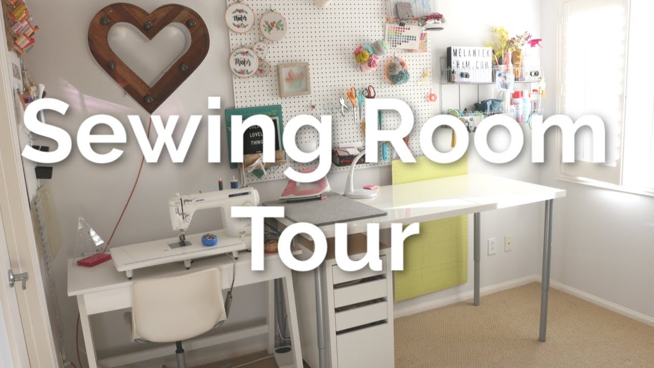 Craft Room Organization And Sewing