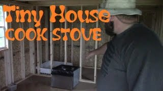 Tiny House Stove Top Oven