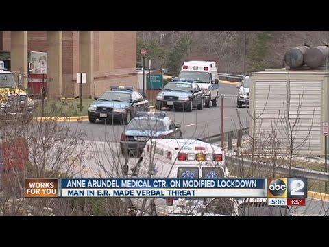 Anne Arundel Medical Center on modified lockdown