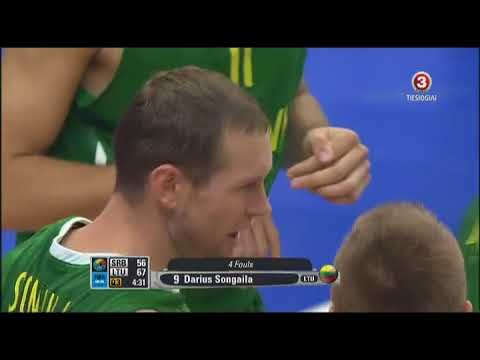 Lithuania vs Serbia 2011 09 07 Eurobasket Second Half
