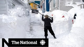 N.L. blizzard: A look at Day 2 of cleanup