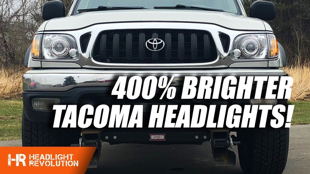 400 Brighter Tacoma Headlights Starr Hid Xp3018 Dot Projector Install And Demo
