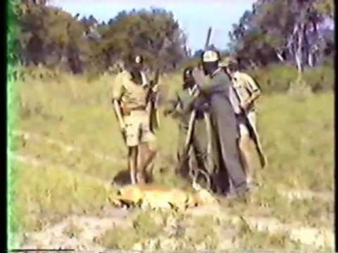 Dan Peña on Botswana Safari 1986