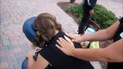Palm Coast and Flagler Beach Massage Therapist Linda McKenney at Entrepreneur Night April 2012