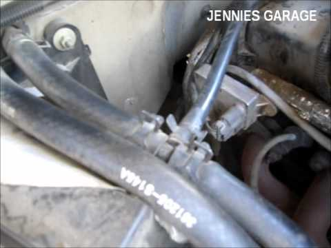 ford ranger intake manifold hot water bypass - cooler air in 5 minutes