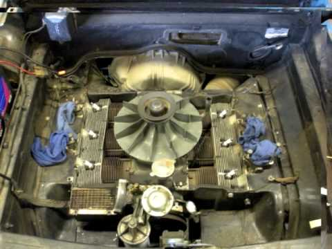 corvair engine removal - youtube