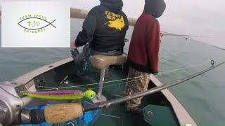 Catching Finicky April Eyes: Detroit River Walleye Jigging 2019