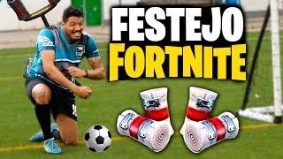 FESTEJO FORTNITE en un PARTIDO DE FUTBOL -  Beast League FTO 2 vs 2 (Jugadas, Trucos y Golazos)