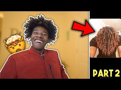 Reacting To Subscribers Hair PART 2!