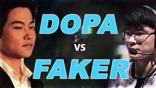 DOPA vs FAKER | Their final clash of Season 8!