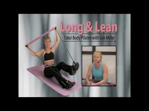 Long & Lean Toning Bar DVD with Gin Miller