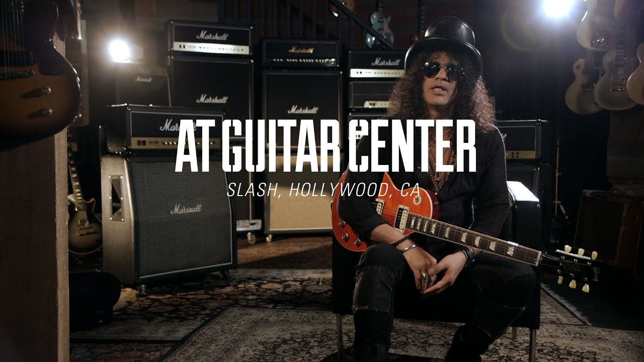 slash at guitar center youtube. Black Bedroom Furniture Sets. Home Design Ideas