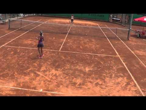 Sanches Casal Tennis Europe round of 16 Dani won 5-7 6-3 6-4    5 of 6