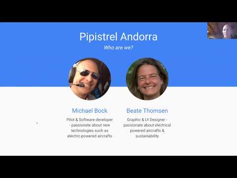 Michael Bock on Pipistrel electric aircraft
