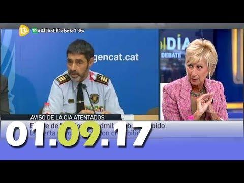 Al Día Debate Político 13tv 01.09.17