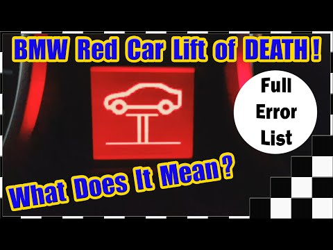 BMW Red Car Lift Of Death!  What Does It Mean?