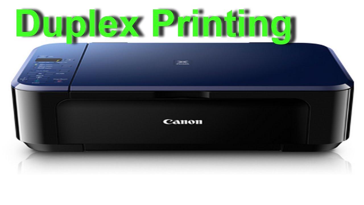 Canon Pixma E510 - Duplex Printing - Preview