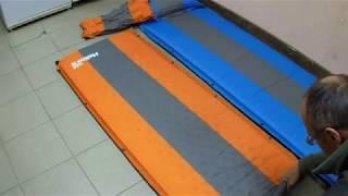 Небольшой обзор самонадувающихся туристических ковриков.
