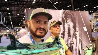 NEW Pelican Catch 110 HyDryve Pedal Fin Drive Overview at iCast 2019 with Zoffinger