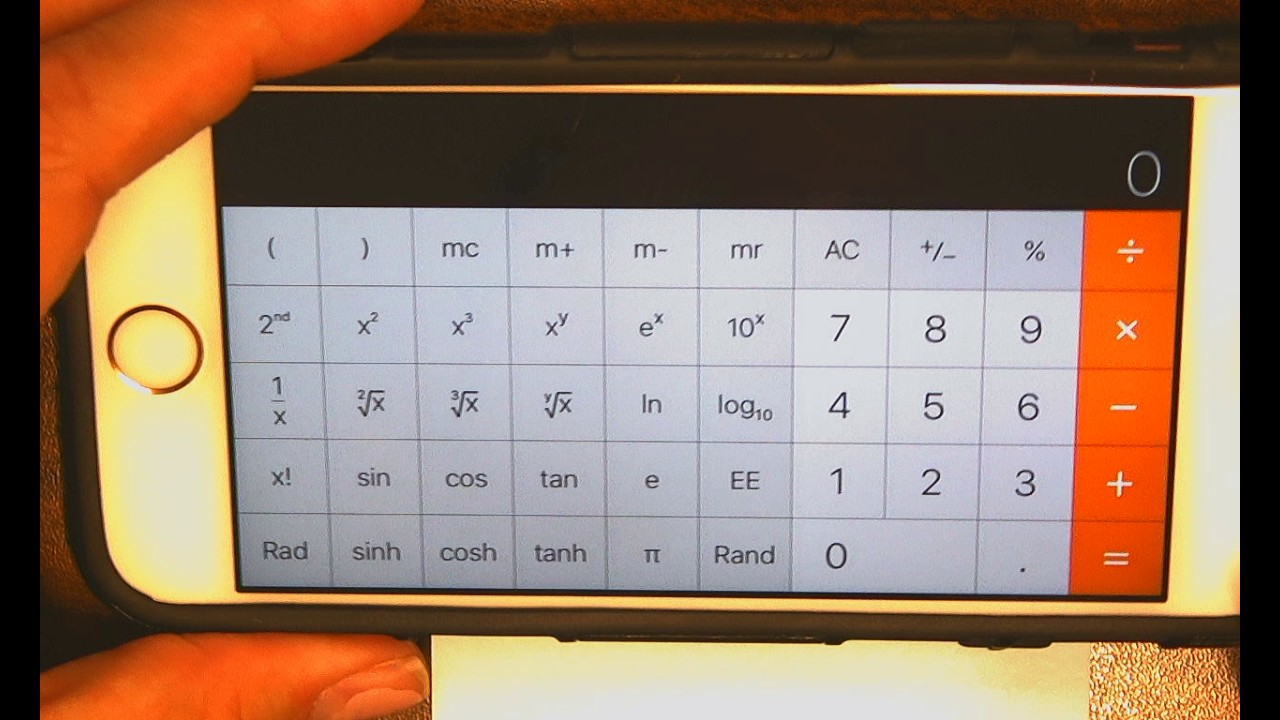Kl_scientific notation on iphone youtube.