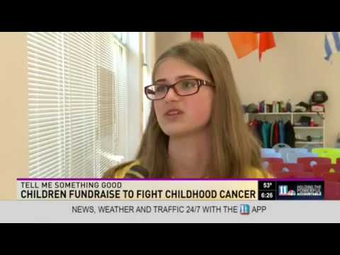 Fulton Science Academy Private School Coins for A Cure Assembly 11 Alive