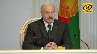 Совещание Александра Лукашенко по вопросу поставок продукции в Россию