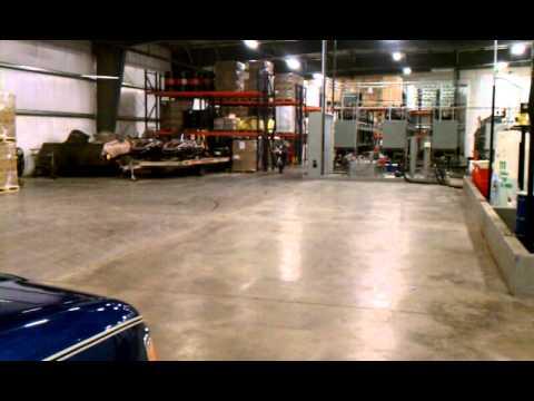 1974 Honda CT 70 wheelie and burnout at work