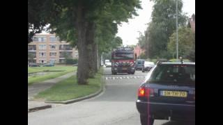 Prio 1 TS40-1 AL46-1 (TS46-1) Wijkteam politie OMS Gebouwbrand Laurens Vierdaagsestraat Rotterdam