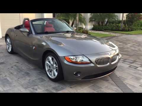 2003 BMW Z4 3 0i Roadster With 19K Miles Review And Test Drive By Bill - Auto Europa Naples