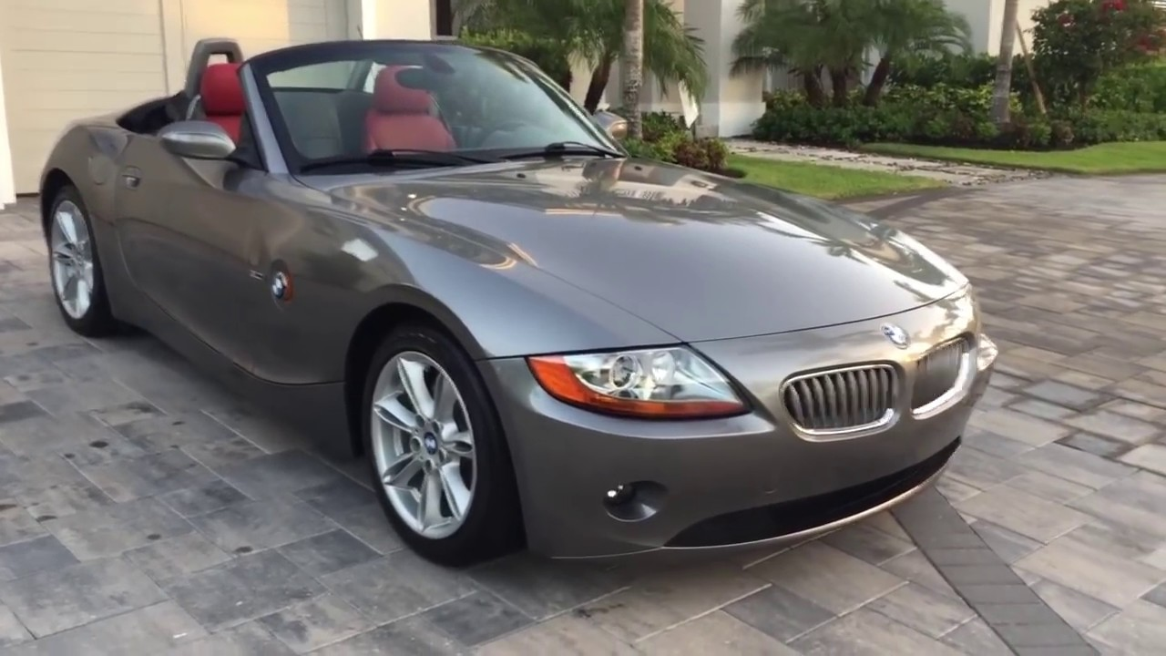 2003 bmw z4 3 0i roadster with 19k miles review and test drive by bill auto europa naples [ 1280 x 720 Pixel ]